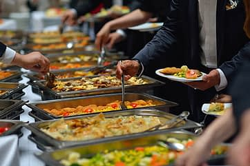 Silver Carvery Buffet Catering