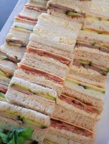 morning or afternoon tea sandwiches for perth catered events
